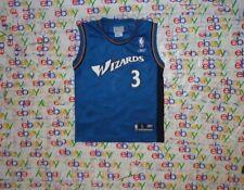 YOUTH'S NBA WASHINGTON WIZARDS # 3 JUAN DIXON  REEBOK BASKETBALL JERSEY  SMALL