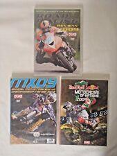 DVD x 3 Red Bull Motocross nations 2009, Motocross World Champions, Road Racing