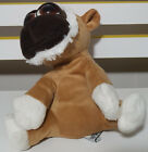 RUSS BERRIE KIMBO BROWN MONKEY PLUSH TOY! SOFT TOY ABOUT 18CM SEATED KIDS TOY!