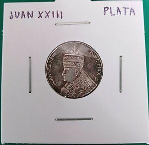 JUAN XXIII moneda de plata silver coin