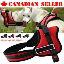 Dog Harness walk No Pull Vest tactical Heavy Duty Handle collar Service Patch CA