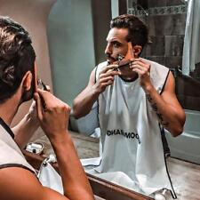 UK Men's Facial Hair Beard Apron Care Shave Cape Bib Trimming Catcher Shaving