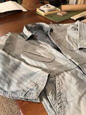 Vintage Sanforized Denim Jeans Coveralls Jumpsuit Design