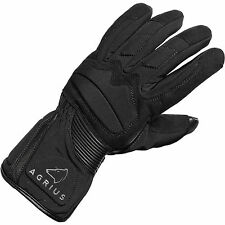 Agrius Prey Leather Waterproof Motorcycle Gloves Motorbike Waterproof Bike Tour