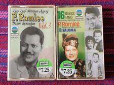 Tan Sri P. Ramlee ~ Lot of 2 Cassettes ( Malaysia Press ) Cassette