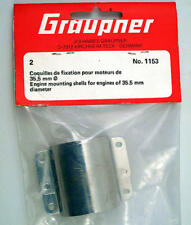 Graupner 1153 Engine Mounting Shells 35.5 mm modellismo