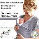 Organic FeatherCo Australian Baby Wrap Carrier | 100% Guaranteed | babywearing