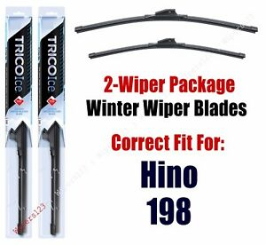 WINTER Wipers 2-pack fits 2011+ Hino 198 35260/220