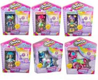 SHOPKINS HAPPY PLACES RAINBOW BEACH LIL' SHOPPIE PACK - CHOICE OF 6 CHARACTERS