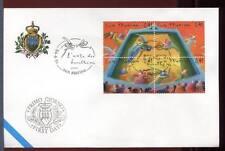 """32850) SAN MARINO 2003 FDC """"Uff. San Marino"""" Burattini – Muppets"""