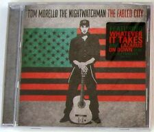 TOM MORELLO - THE NIGHTWATCHMAN THE FABLED CITY - CD Sigillato