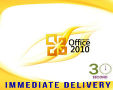 Microsoft  Office 2010 Professional Pro 32/64 bit - 100% Genuine Product Key