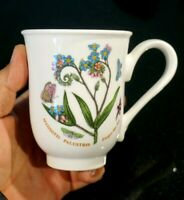 Beautiful Portmeirion Botanic Garden Forget Me Not Beaker Mug