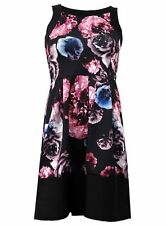 Polyester Mini Floral Dresses for Women