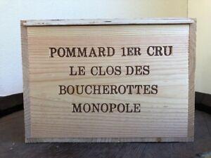 "108,87€/L. 6 FL. Pommard 1° cru Monopole. ""Clos des Boucherottes"" .Rotwein."