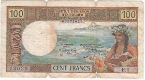 Tahiti 100 Francs