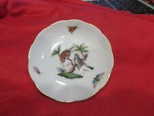 Herend Rothschill Pin Tray / Serving Plate - bird motif
