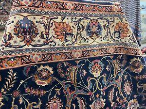 Auth: 30's Antique Korasan. Mystical Art   P E R S I A N  Beauty  Blue 10x13  NR