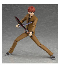 Free Shipping Authentic Figma Shirou Emiya Fate/Stay Night Unlimited Blade Works