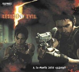 Resident Evil 5 Calendar 2010 - Chris Redfield Sheva Alomar New RARE