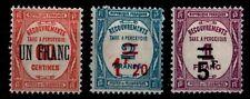 TAXE : A PERCEVOIR n°63 à 65, Neufs * = Cote 155 € / Lot Timbres France