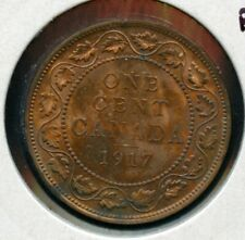 1917 Canada One Cent - Nice Mint State Large Penny