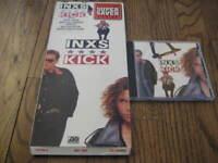 INXS Kick  Longbox and Original cd Rare! Michael Hutchence