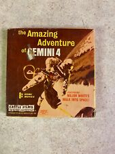 Vintage Amazing Adventures of Gemini 4 200', 8mm, silent, b&w Castle Films shot