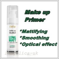 Delia Make Up Primer Long Matt Skin Care Defined Smoothing Mattifying 30 ml