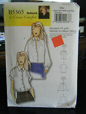 Butterick Connie Crawford B5365 Woman Plus Blouses Pattern - Size XS-XL