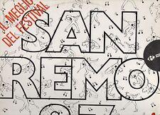 SANREMO 1987 disco LP 33 g TOTO CUTUGNO PAOLA TURCI PATTY PRAVO NINO BUONOCORE