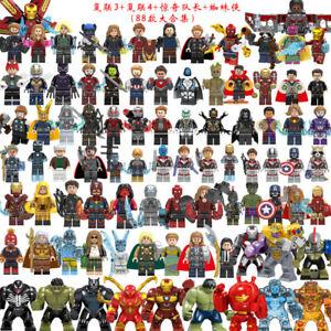 Marvel DC Comics Superheld Justice League Minifiguren passt LEGO Spielzeug