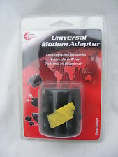 SWISS TRAVEL PRODUCTS UNIVERSAL MODEM ADAPTER P/N: SMA001