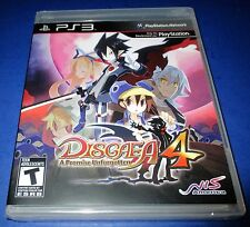 Disgaea 4: A Promise Unforgotten Sony PlayStation 3 *Factory Sealed! *Free Ship!