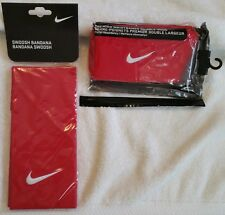Nike Tennis 2011 US Open Red Wristbands Bandana Nadal Federer PAC200-626