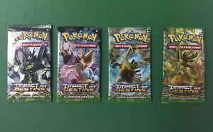 Boosters Pokémon XY Impact des Destins