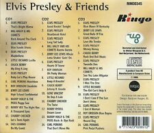 CD X 3 ELVIS PRESLEY & FRIENDS 3 CD COFANETTO 2006 RINGO 345