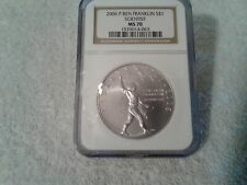 New listing 2006 P Ngc Ms70 Ben Franklin Scientist $1 Silver Commemorative