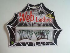 Fancy Dress - Self Adhesive Web Lashes - Halloween - Bonfire Night - Goth UNUSED