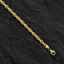 14k SOLID Gold ROPE Pendant link Chain/Necklace 18 1.25 mm  2.7 grams  SR09
