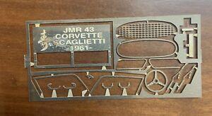 #23 - Photodecoupe pour Corvette Scaglietti 1961 AMR 1/43