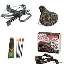 New Barnett Wildcat C6 Crossbow 4x Scope Case Sling Ex Arrows Crank 78042
