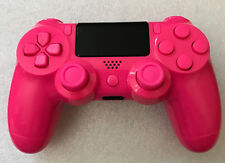 Playstation 4 Controller Pad Pink Two Tone Custom Thumbsticks PS4