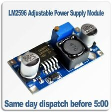 LM2596 DC-DC Buck Converter Adjustable Power Supply. Step Down PSU Module
