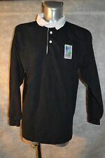 ANCIEN MAILLOT RUGBY  BLACK  TAILLE XL IRB  DE COUPE DU MONDE  1999