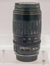 Canon 100-300mm F4.5-5.6 USM EF Mount Zoom Lens EOS Digital SLR Cameras