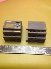 Siemens LOGO 6ED1 055 1CB10 0BA0 & N117   6ED1 052 1MD00 0BA6