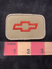 Vtg Chevrolet Bow Tie Patch ( Car, Auto Related ) 00A4
