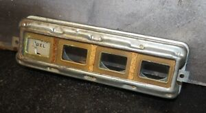 Vintage Hot Rod Rat Rod Dash Dashboard Gauge Pack Trim W/Fuel Gauge OEM Ford?