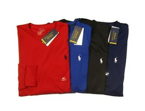 Polo Ralph Lauren Performance Men's Thermovent Crew-Neck Long Sleeve T-Shirt